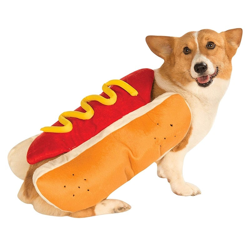 Hot Dog Pet Dog Costume