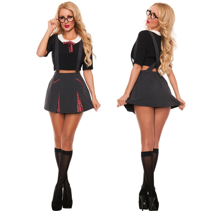 Sexy School Girl Costume - Halloween USA