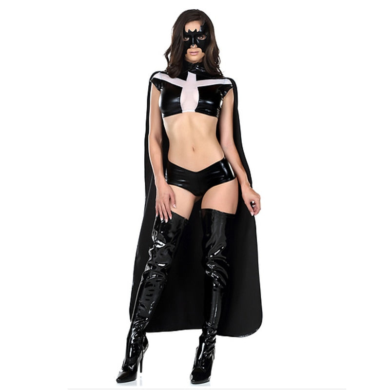 Dirty  Batgirl  Costume - Halloween USA