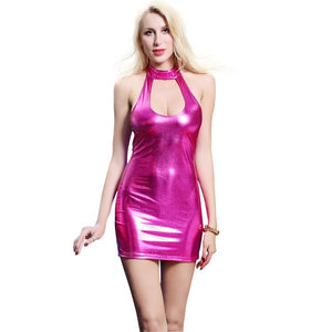 Latex Dress - Halloween USA