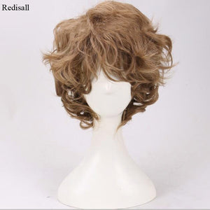 Lord of the Rings Wig Short Curly Wig - Halloween USA