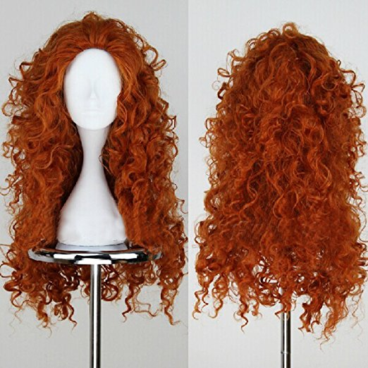 Long Curly  Wig - Halloween USA