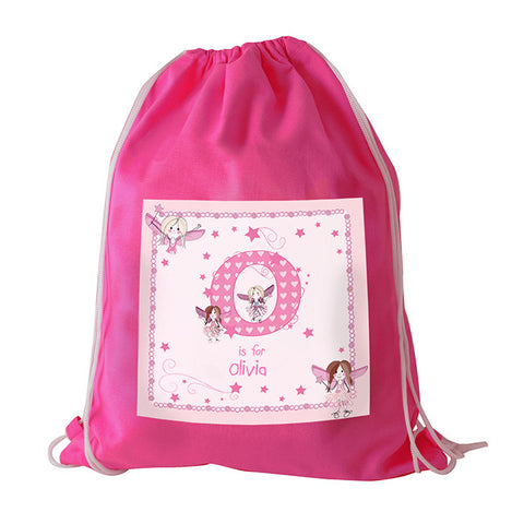 Fairy Letter Swim / Gym / Ballet Bag