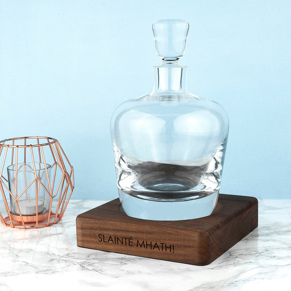 Engraved LSA Whisky Decanter
