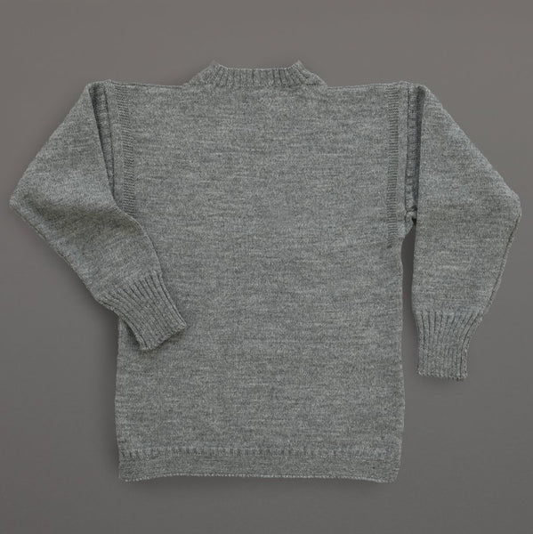Guernsey Sweater Steel