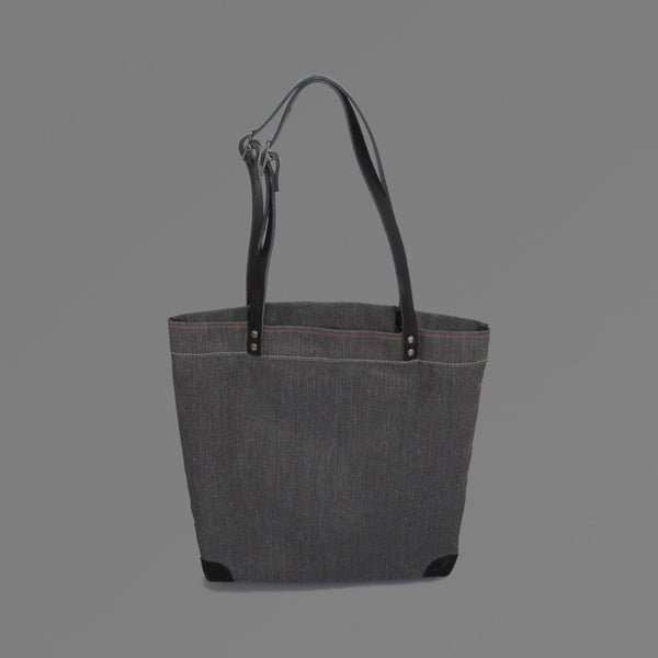 Small Canvas Tote Bag Black