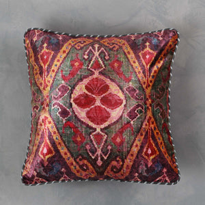Ikat Anar Cushion Cover - Small