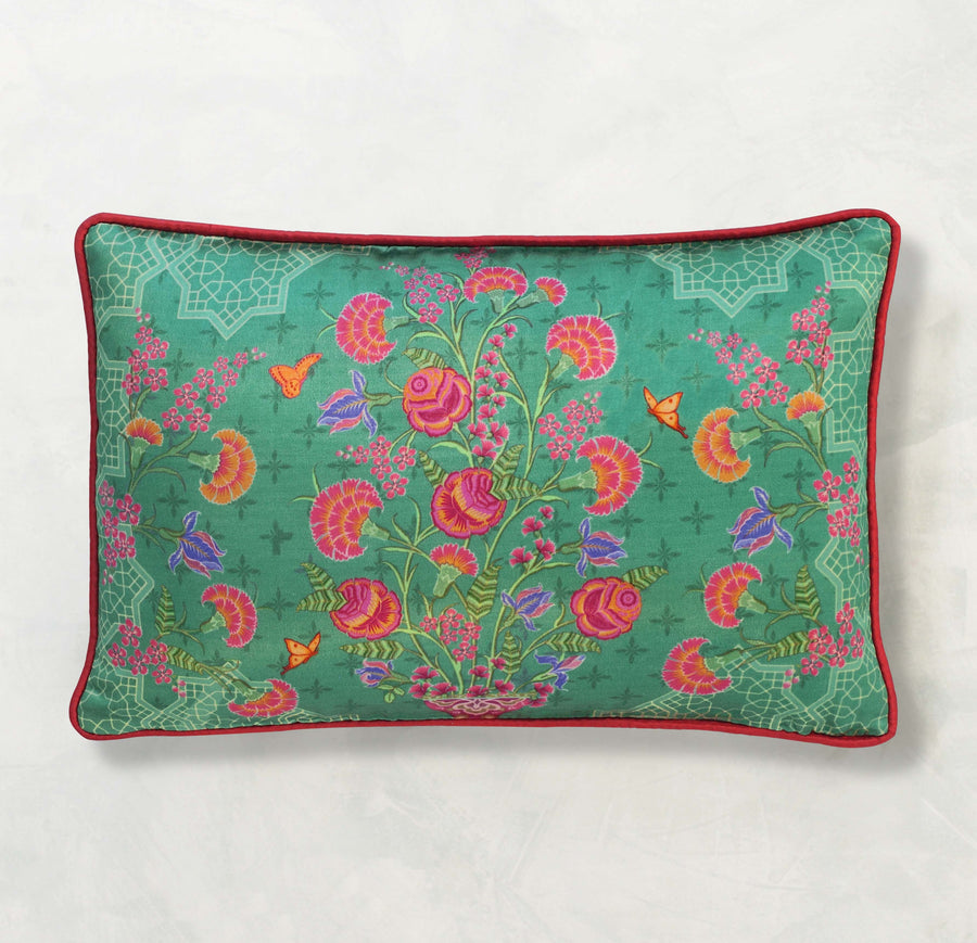 Ambreen Cushion Cover - Aqua Slim