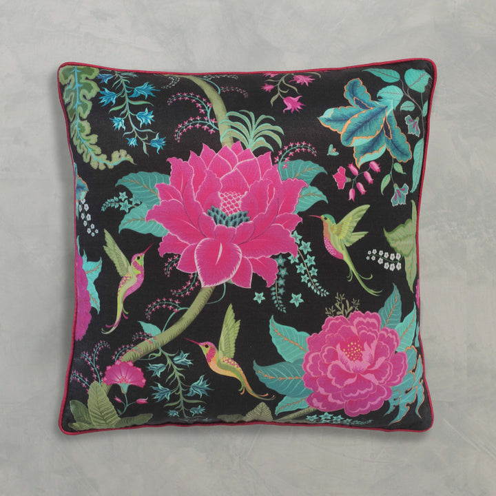 Coromandel Cushion Cover - Black
