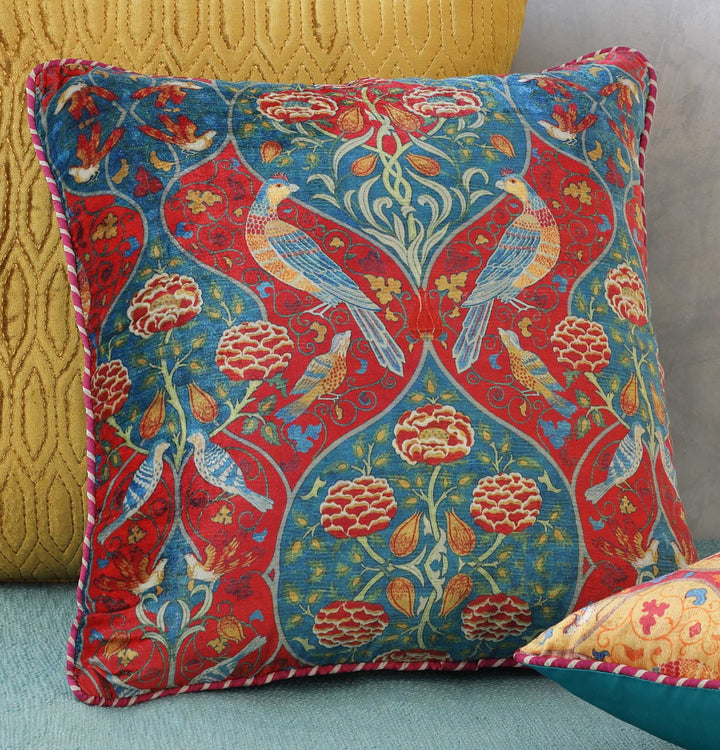 Fiza Cushion Cover - Blue