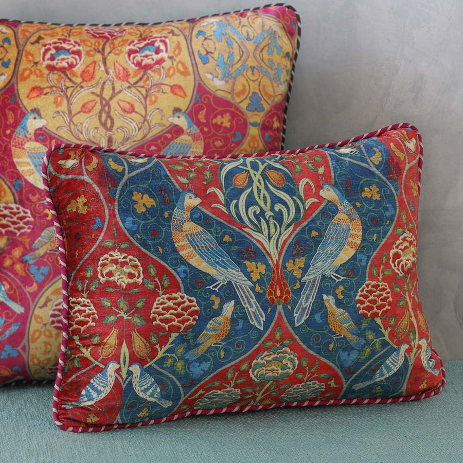 Fiza Cushion Cover - Blue Slim