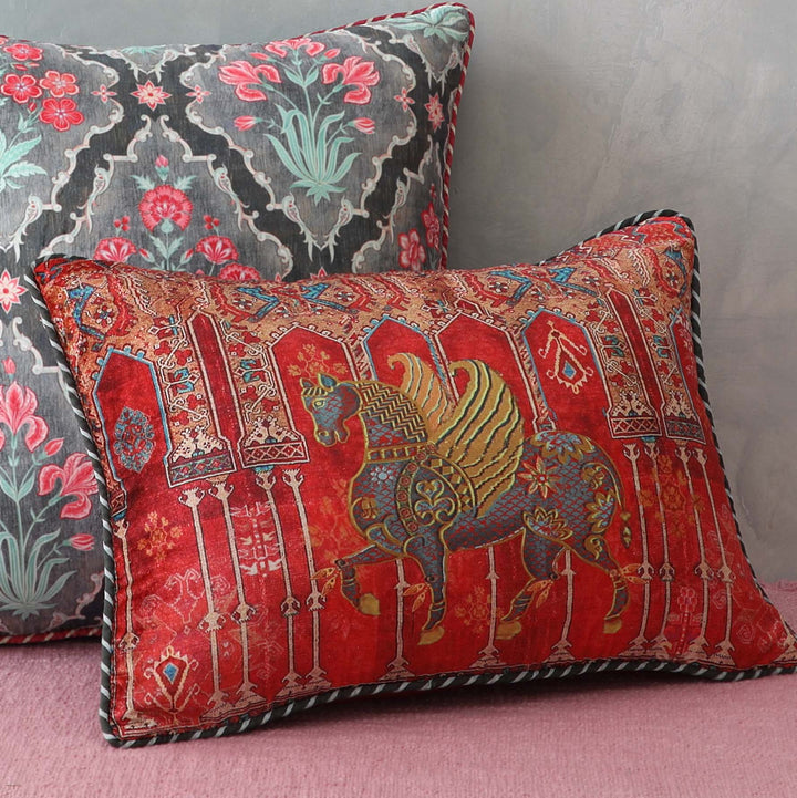 Gulzar Cushion Cover - Shehzad (left)