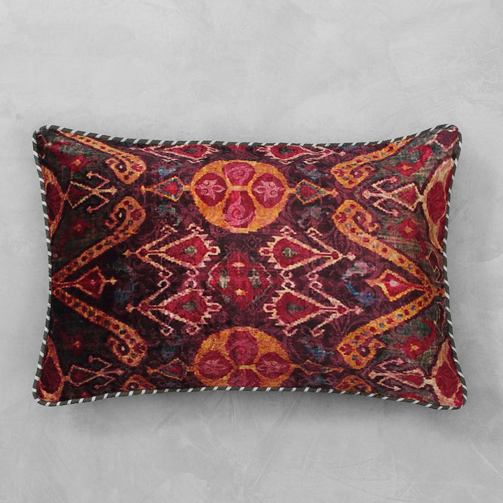Ikat Anar Cushion Cover - Slim