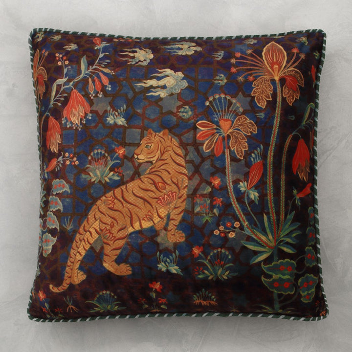Isfahan Tiger Cushion Cover -Aurum