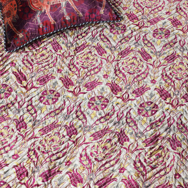 Isfahan Quilted Bedcover