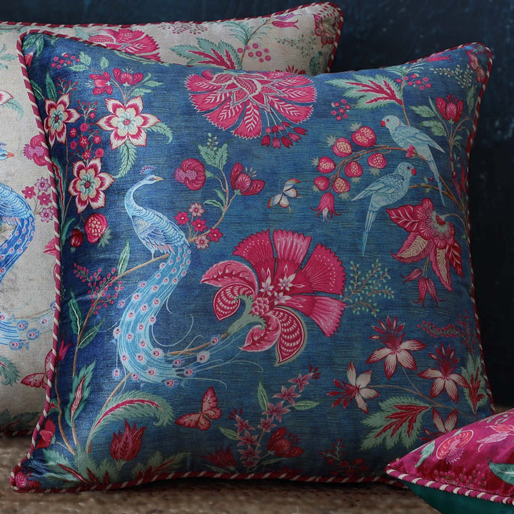 Kanha Cushion Cover - Blue