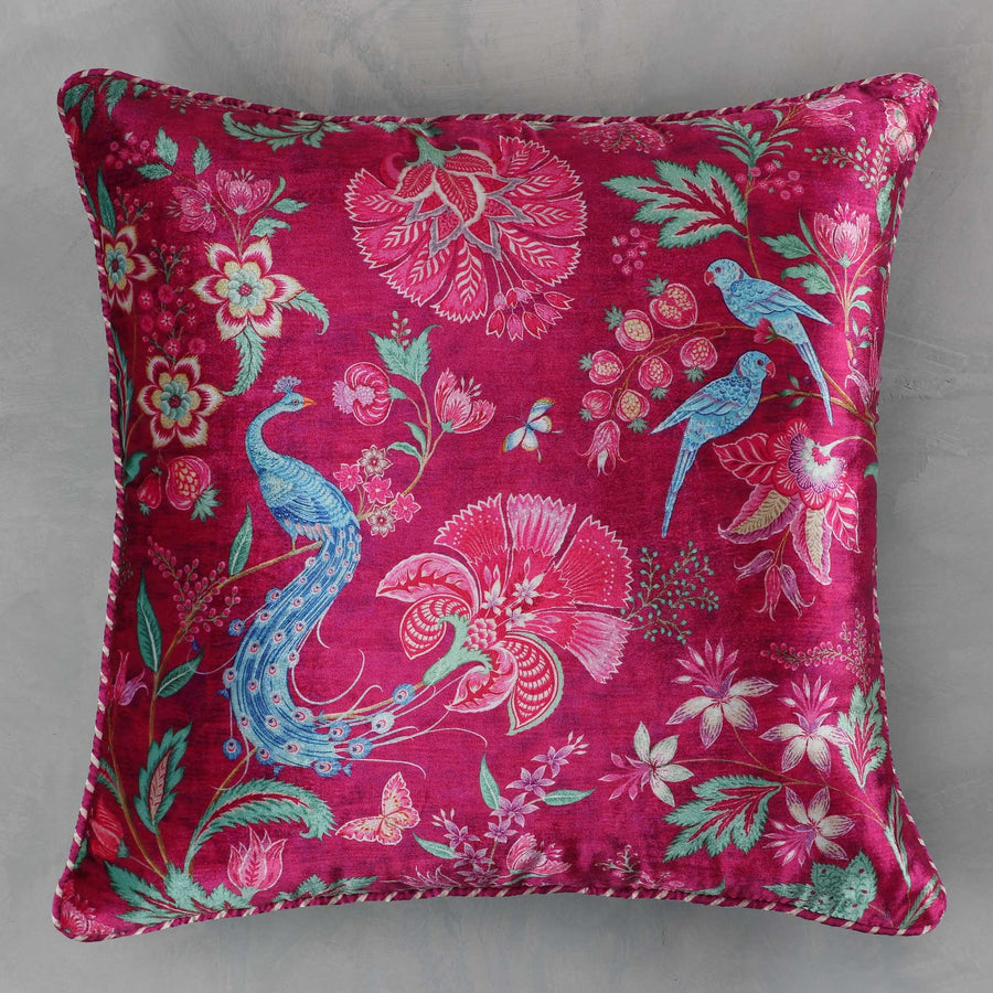 Kanha Cushion Cover - Ruby