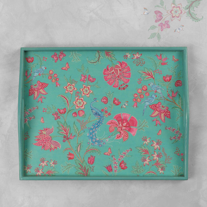 Kanha Tray - Aqua Large