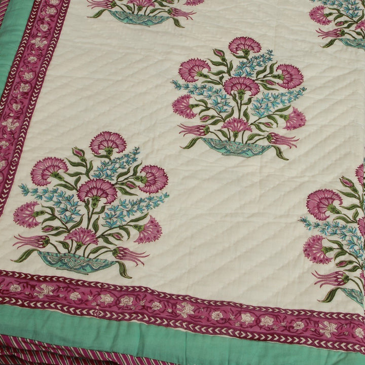 Ambreen Hand Quilted Muslin Quilt