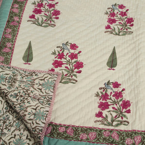 Chinarbagh Hand Quilted Muslin Quilt