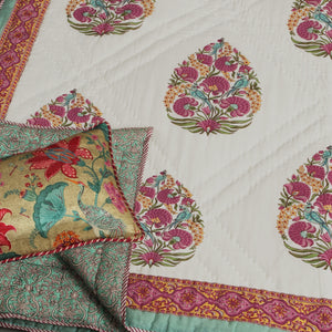 Saryu Hand Quilted Muslin Quilt