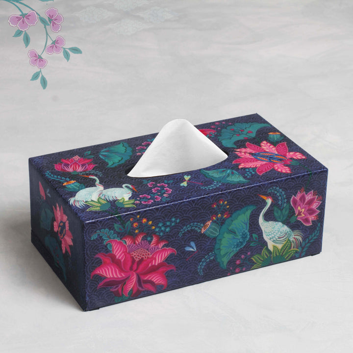 Taashi Tissue Box Holder - Grey