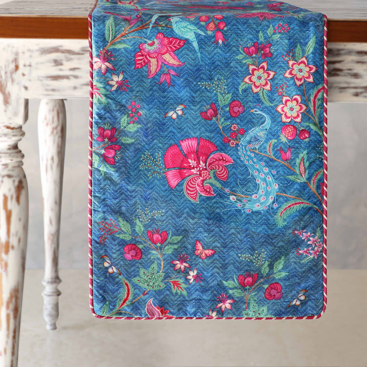 Kanha Table Runner - Blue