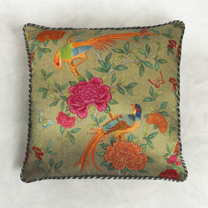 Serenade Cushion Cover - Olive