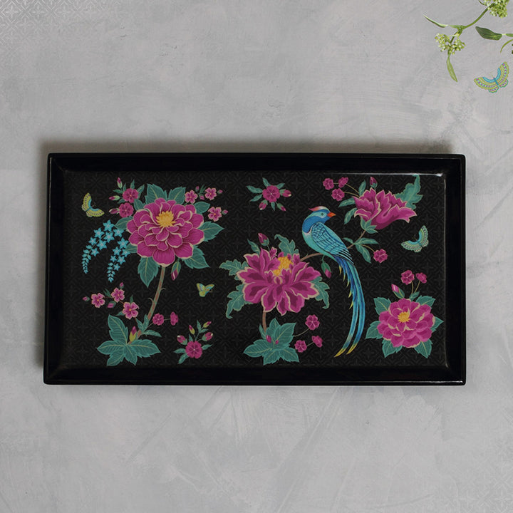 Opium Enamel Tray - Midnight Slim