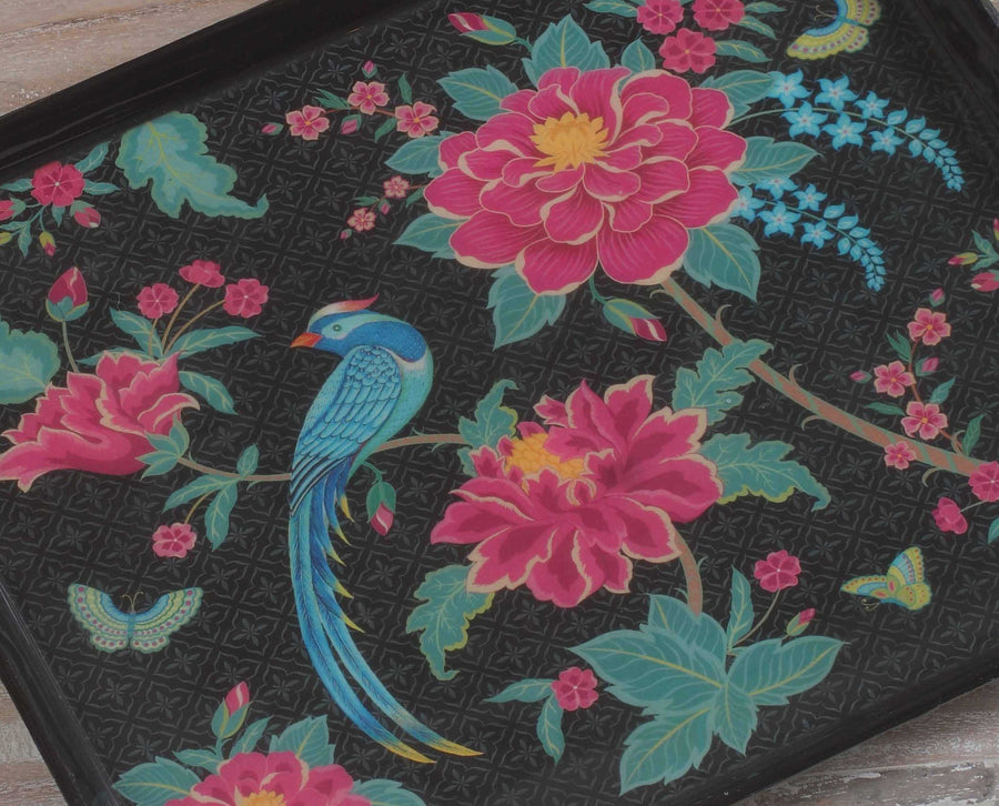 Opium Enamel Tray - Midnight