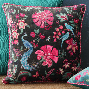 Kanha Cushion Cover - Charcoal