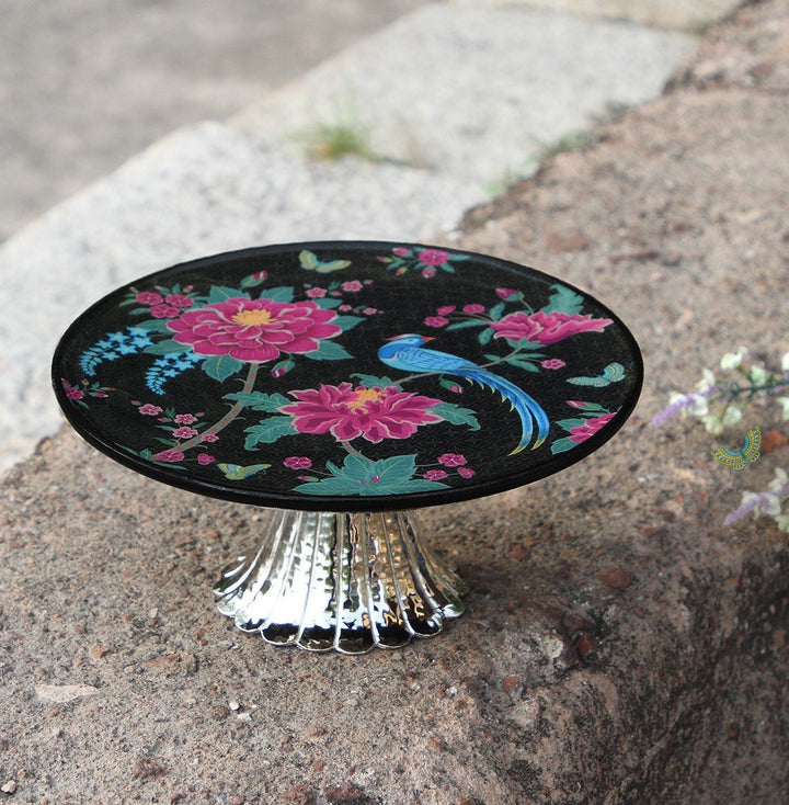 Opium Cake Stand - Midnight Large