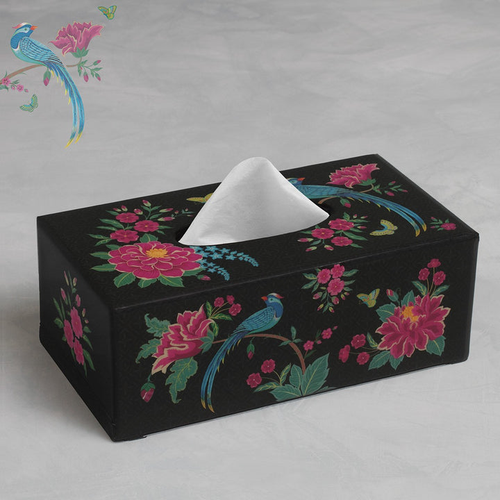 Opium Tissue Box Holder - Midnight
