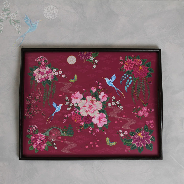 Coromandel Tray - Ruby Large