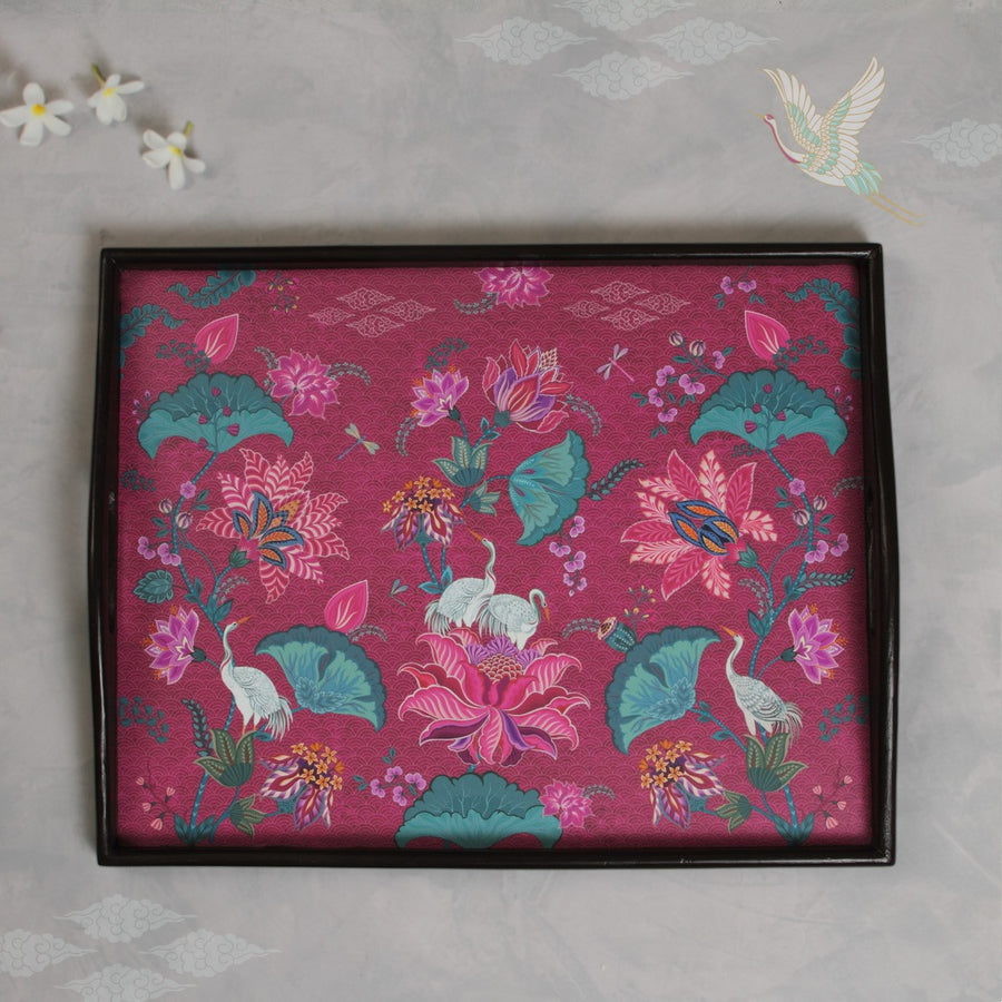 Taashi Tray - Ruby Large