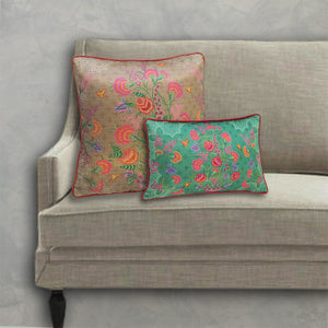 Ambreen Cushion Cover - Beige