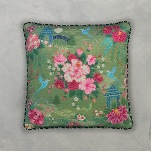 Coromandel Cushion Cover - Moss
