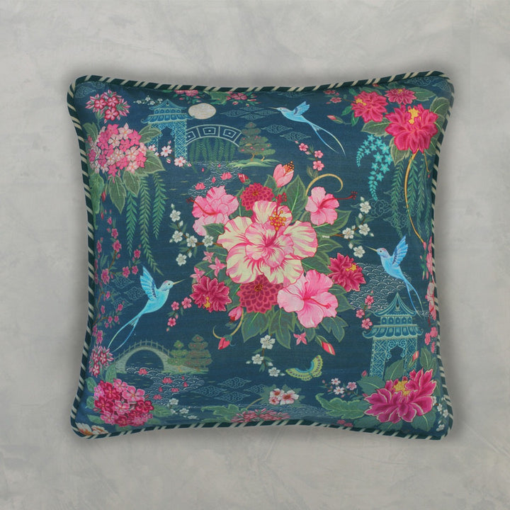 Coromandel Cushion Cover - Blue