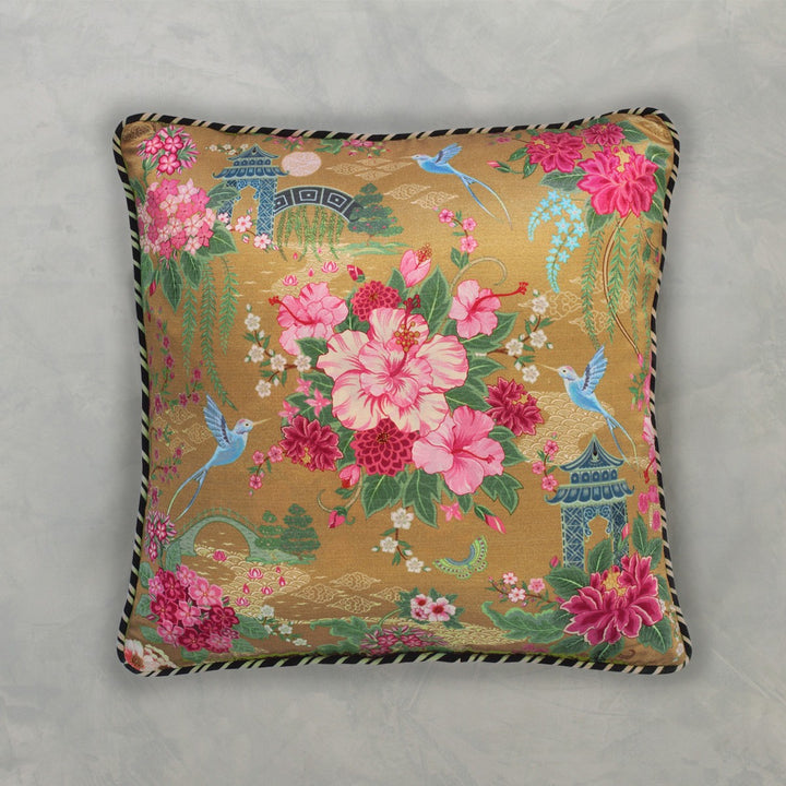 Coromandel Cushion Cover -  Gold