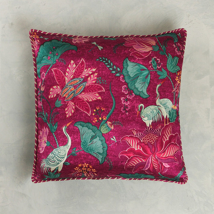Taashi Cushion Cover -  Ruby