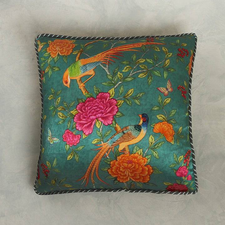Serenade Cushion Cover - Teal