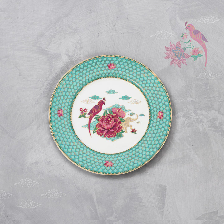 Saryu Parrot Tea/Snack Plate