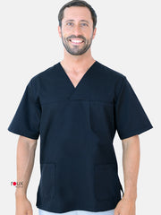 Unisex Scrub Tunic Darkred