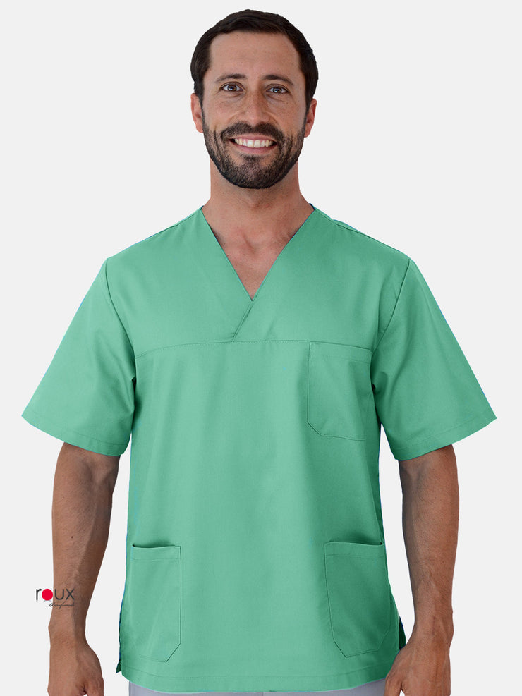 Unisex Scrub Tunic Lightgreen