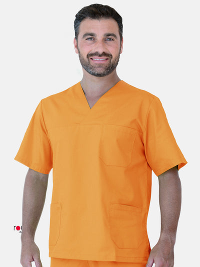 Unisex Scrub Tunic Orange
