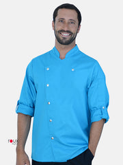 Chef's Jacket Turin BlueSky