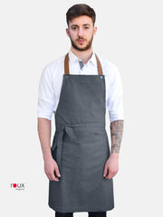 denim aprons with logo