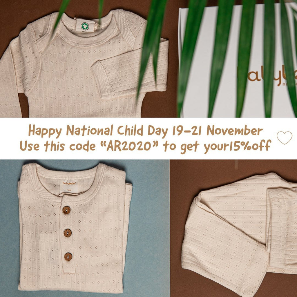 Happy National Child's Day | BabyBella Natural Babywear