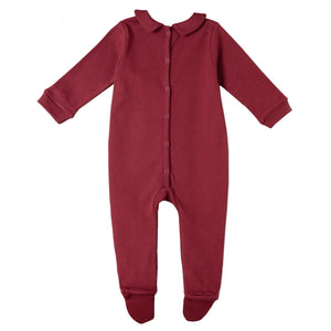 Organic Cotton - Red Romper