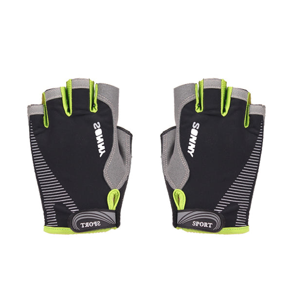 Breathable cycling gloves